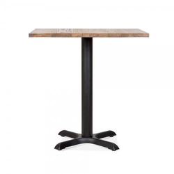 Handicraft Point 72 cm Square Cafe Dining Table with Solid Wood Top