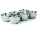 Serving Bowls With Silvering Lining