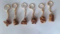 Wooden Handicraft  keychain