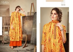 Belliza Present Cherry Pure Rayon Designer Dress Materials