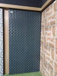 Black Colour Elevation Tiles