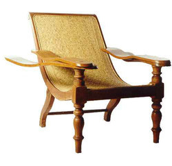 Brown Antique Wooden Chairs