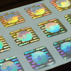 PET Hologram Sticker