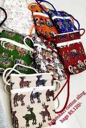 Kalamkari Sling Bag