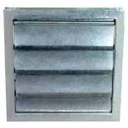 Galvanized Iron Gravity Louvers