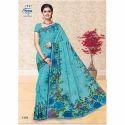 1404 Ladies Designer Cotton Saree