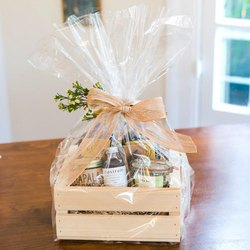 Festival Wooden Gift Basket