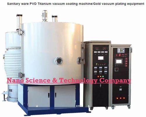 Sanitary Ware PVD Tin Gold Vacuum Coating Machine