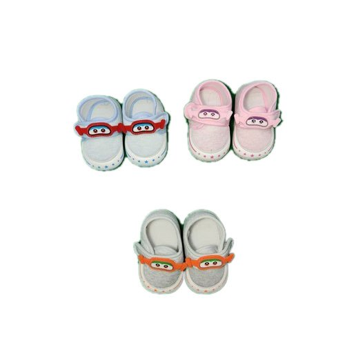 Woolen Designer Casual Wear Baby Shoes