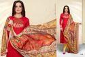 Collar Neck Masakali Salwar Suit Fabric