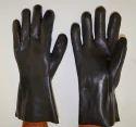 Midas Black PVC Double Dipped Gloves