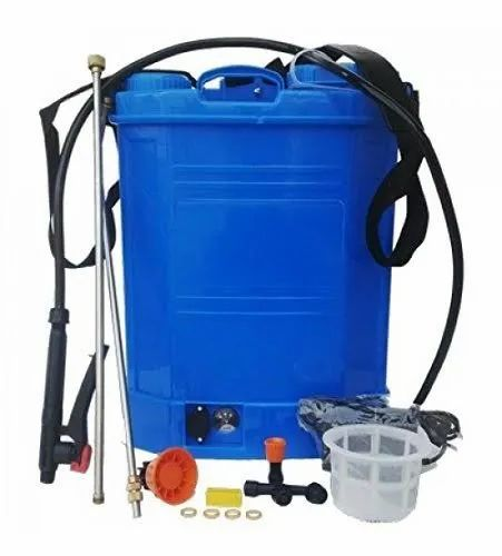 Sanitizer Spray Pump Battery Operated, 12 Ah, Capacity Of Storage Tank: 16l