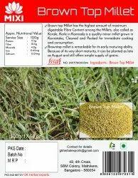Browntop Millet