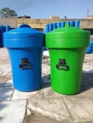 Aditya Plastic Waste Container & Dustbin 50 Liter, For Office