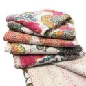 Tropical Indian Kantha Quilt