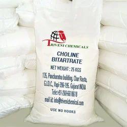 Choline Bitartrate, Packaging Type: Bag