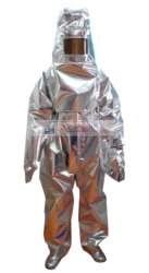 Aluminised Fire Proximity Suit EN ISO 11612 : 2015