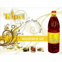 Mustard Oil Advertising Label