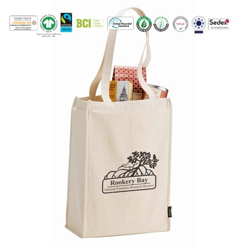 Printed Reusable Grocery Bag Rs 25
