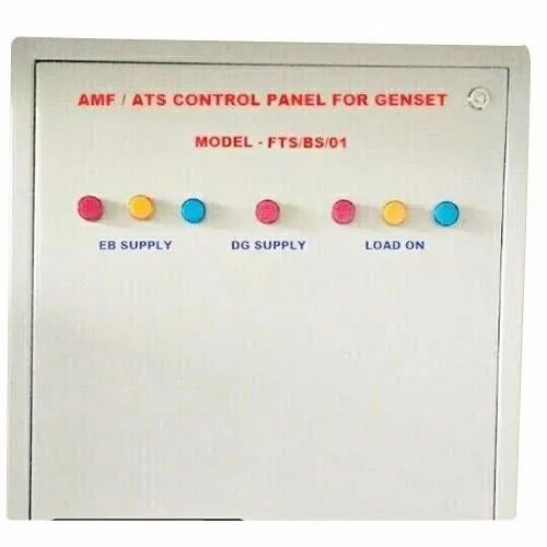 Sheet Metal Single Phase AMF/ATS Control Panel For Genset, IP Rating: Ip65