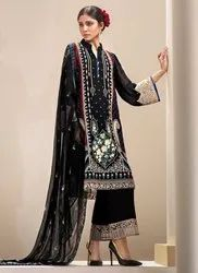 Pakistani Style Georgette Salwar Suits