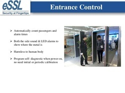 Door Frame Metal Detector installed at RGIA (hyderabad Airport)