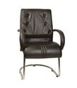 Genuine Leather Visitor Chairs-ifc012