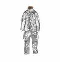 镀铝夹克与裤子和裤子