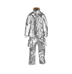 Aluminized Jacket With Pant and Trousers