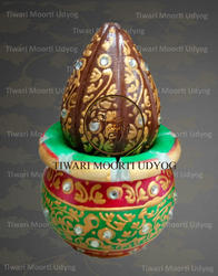 Marble Nariyal Kalash