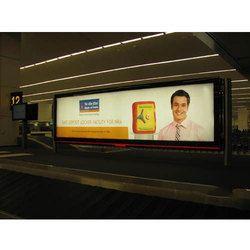 Scroller Advertising Display