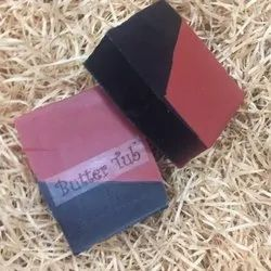 Rose Clay And Charcoal Herbal Soap