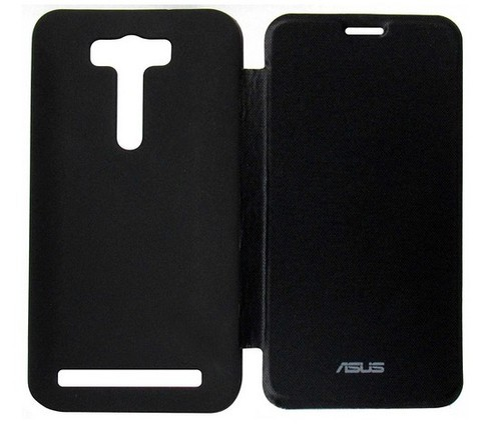 cheap for discount c9609 e74de Flip Cover For Asus Zenfone 2 Laser 5.5 Ze550kl Black