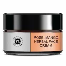 Rose, Mango Herbal Face Cream, Semi Solid