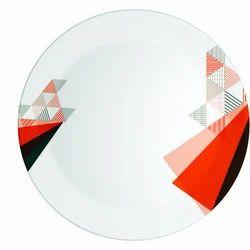Geometry Melamine Plate
