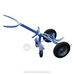 4 Wheeler Drum Trolley
