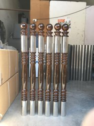 Acrylic Balusters, Material Grade: Ss 304, Size/Dimension: 76mm Diameter