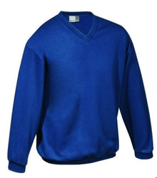 Blue S To XXXL Men's V Neck Sweater