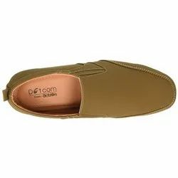 Tan Mens Action Dotcom Loafers, Rs 705