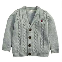 Woolen Casual Wear Knitted Kids Sweater