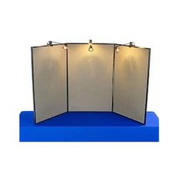 White Exhibition Display Board