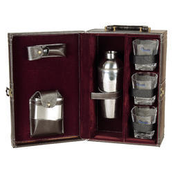 Dark Brown - 03 Portable Cocktail Set