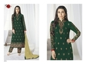 Collar Neck Green Preet Salwar Suit