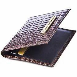 Brown Ladies Designer Leather Wallet