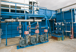 Sewage Treatment Plant with Aeration System
