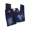 Blue Faded Mens Jeans