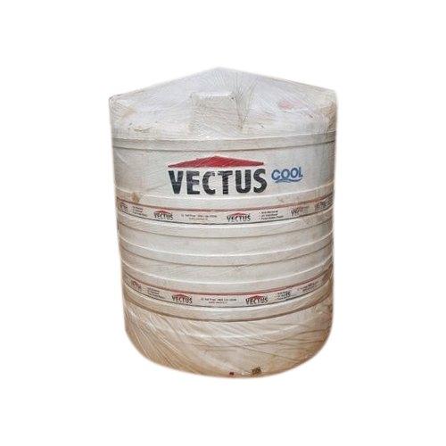 White Plastic Vectus Cool Water Storage Tank