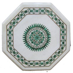 New Style Marble Inlay Coffee Table Top