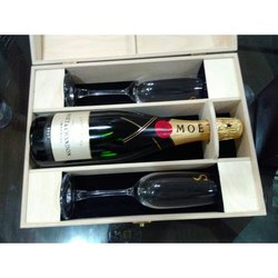 Wooden Wine Bottle Box