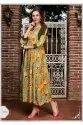 Manisha Fashion Presents Mishti Vol 3 Rayon Print Long Gown Kurti Catalog